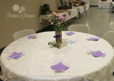 baby shower table setting secret garden baby shower parties for pennies