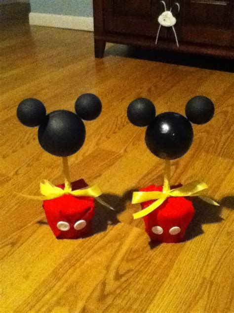 Mickey Mouse Table Decorations by Mickey Mouse Table Decorations Ideas