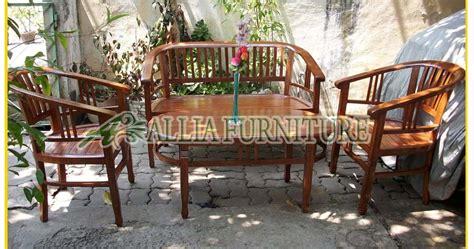 Kursi Betawi Satu Set kursi teras ukiran betawi menteng allia furniture