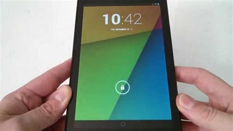 reset android nexus 7 how to soft reset or reboot android nexus 7 youtube