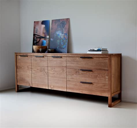 Bed Sideboards teak light frame by ethnicraft sideboard bed chest of