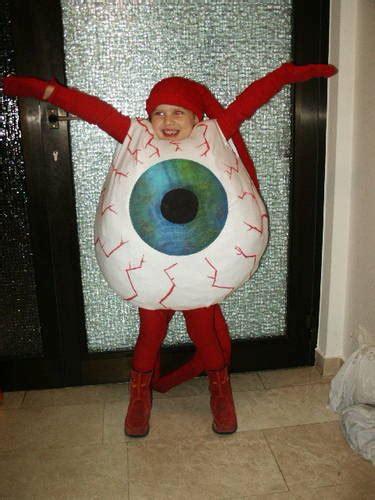 giant eyeball costume