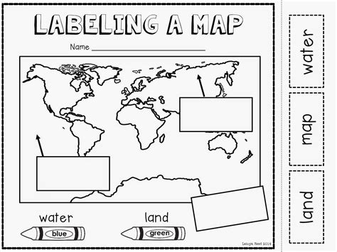 map activity maps globes and our world plus a freebie kinderland