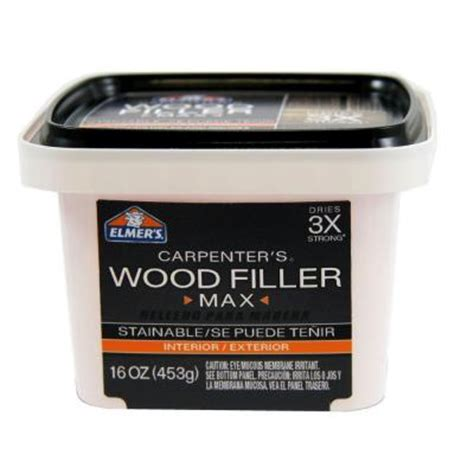 elmer s interior and exterior wood filler max pint e9021