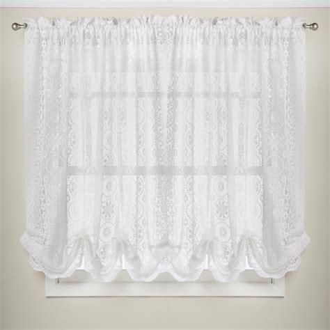 white lace kitchen curtains overstock kitchen curtains embroidered sunflower kitchen