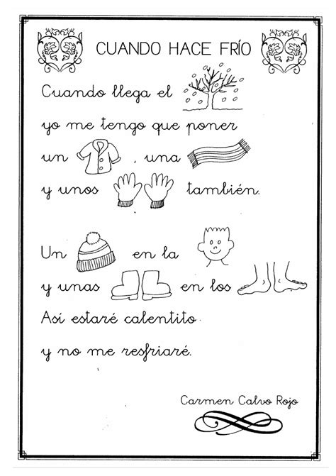 cartas de invierno winter 8434862352 poesias infantiles