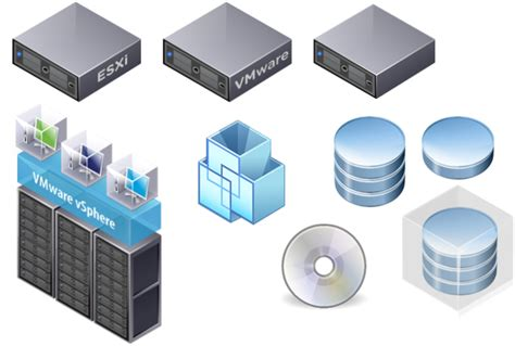 server stencils visio vmware euc visio stencils for 2015 shapes icons and graphics