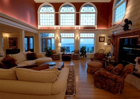 living room in mansion estate of the day 15 5 million muir haven mansion in