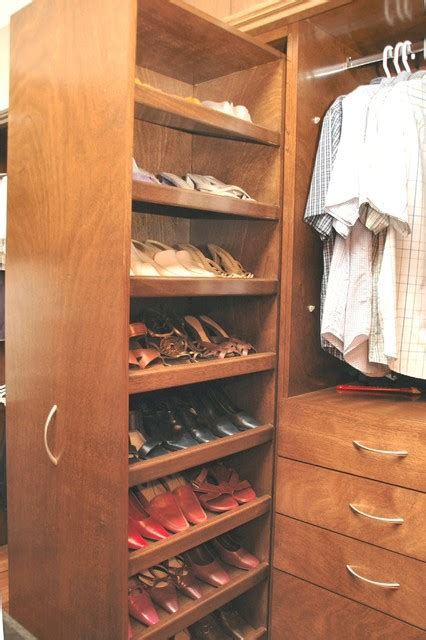 slide out shoe storage shoe drawer no dust again traditional closet
