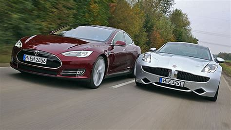 Fisker And Tesla Why Do Compare Fisker To Tesla
