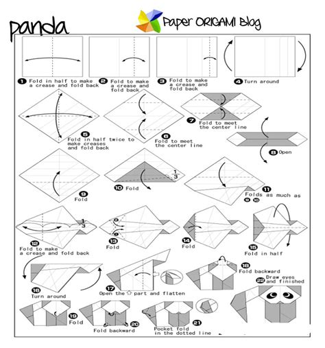 How To Make A Paper Panda - panda origami origami photos