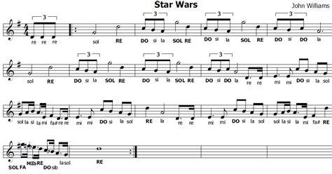 testo sar musica e spartiti gratis per flauto dolce wars