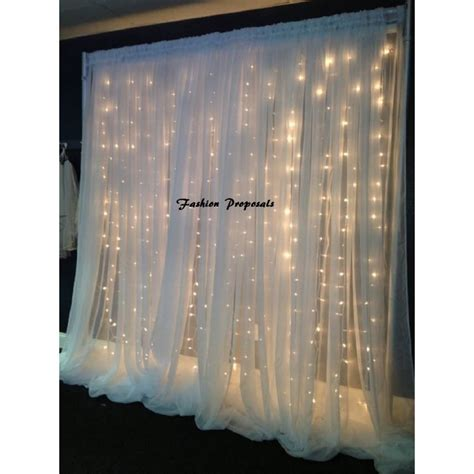Wedding Backdrop Led by Led Backdrop Lights Led Backdrops Drapes With Voile