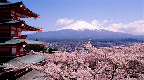 background jepang mount fuji wallpapers wallpaper cave
