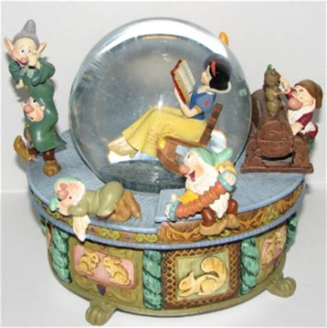 your wdw store disney snow globe snow white rocking