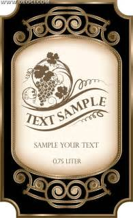 wine bottle label template wine bottle label template free search