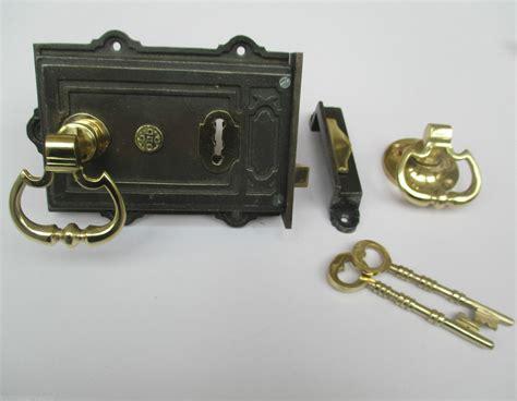 iron door locks style vintage style cast iron lock brass
