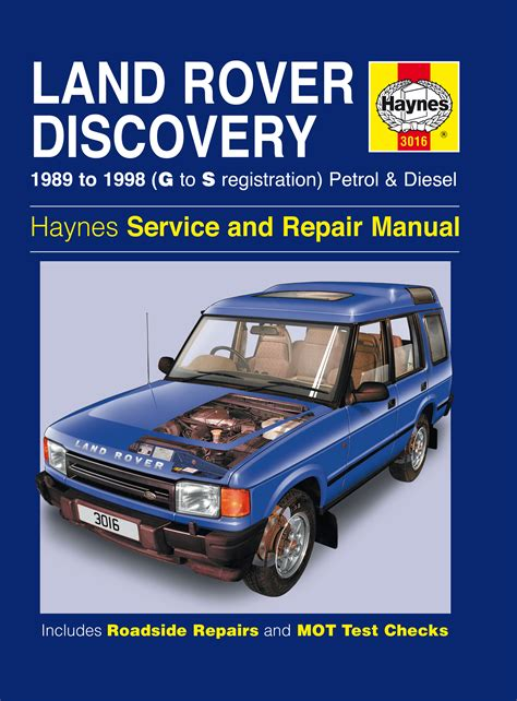motor auto repair manual 2012 land rover range rover evoque spare parts catalogs land rover discovery petrol diesel 89 98 g to s haynes publishing