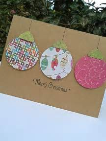 ornament card paper handmade christmas by sharingapassioninc