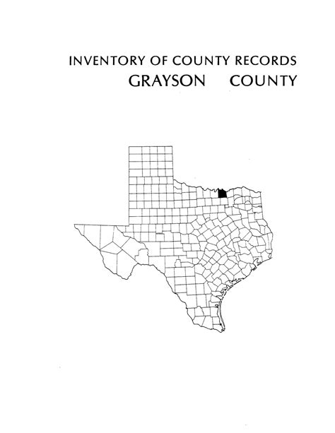Grayson County Tax Office by Inventory Of County Records Grayson County Courthouse