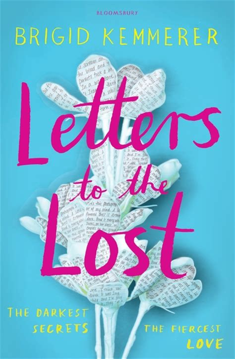 the lost book letters to the lost brigid kemmerer bloomsbury children