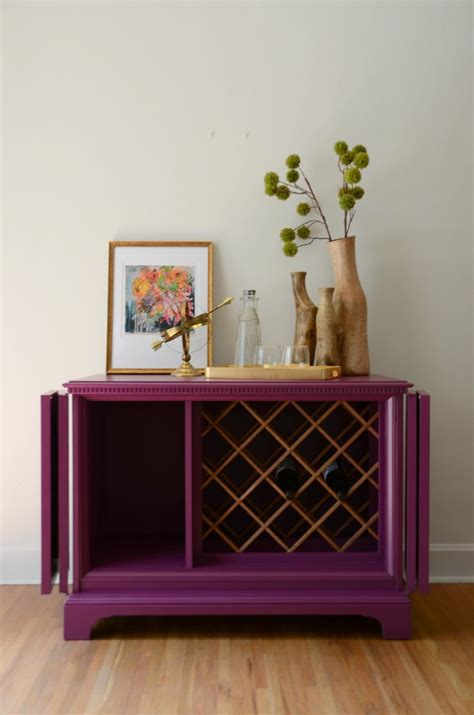 repurposed tv cabinet becomes a wine rack named ophelia