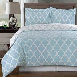 meridian blue reversible cotton comforter set free shipping
