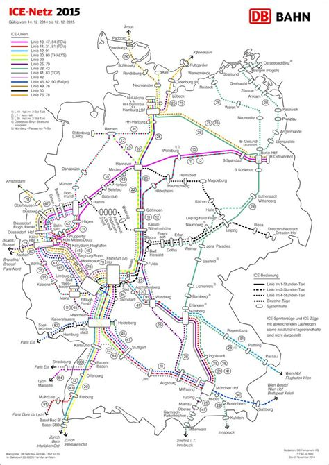 trains germany map railway map on high speed trains in germany netz