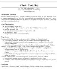 Material Controller Sle Resume by Controller Resumes Sle Resumes Livecareer