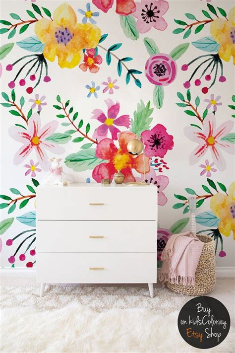 floral wall murals 25 best ideas about floral wallpapers on baby