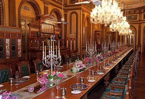 Table In Room interesting things to know about taj falaknuma palace