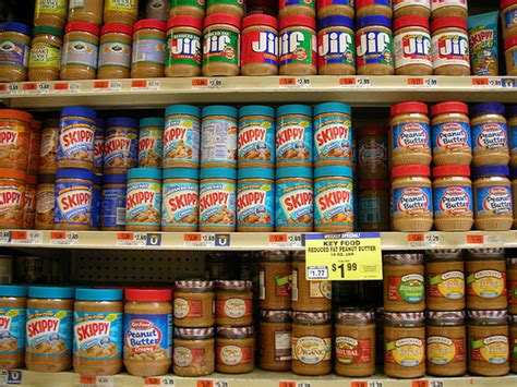 Shelf Of Butter peanut butter shelf flickr photo