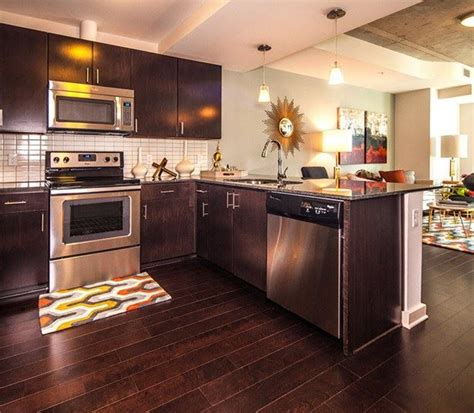 Stainless Steel Countertops Dallas by Victory Park Apartments Skyhouse Dallas Dallas Gallery
