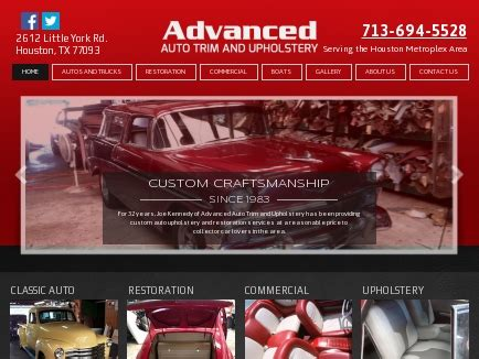 boat upholstery houston tx advanced auto trim and upholstery auto restoration houston