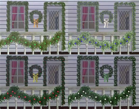 sims 3 weihnachten download mod the sims light up your part 1 updated 2 tile garlands added 12 3 2012