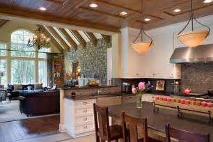 Kitchen Great Room Floor Plans by Create A Spacious Home With An Open Floor Plan
