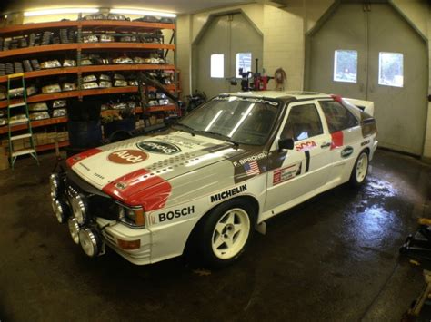 Audi Rally Car For Sale by Factory Built Audi Quattro B Rally Car For Sale