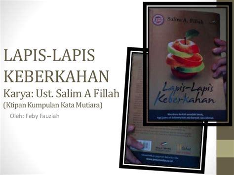 Salim Afillah Lapis Lapis Keberkahan lapis lapis keberkahan