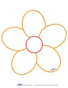 flower printables free printable flower stencil templates clipart best