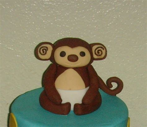 Baby Monkey For Baby Shower by Baby Monkey Baby Shower Cake Cakecentral