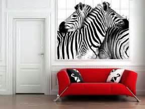 Room decorating ideas incorporating zebra prints into home decor