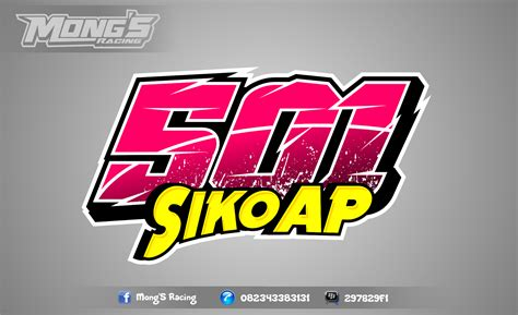 desain gambar nomor mong s racing desain nomor start road race drag bike