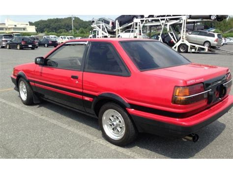 toyota for sale toyota corolla twincam 1986 for sale images