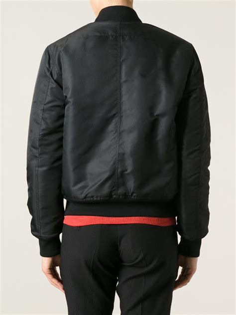 Jaket Print Black givenchy painterly print bomber jacket in black lyst