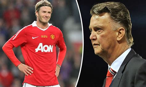 Manchester United Louis Gaal Jokes About