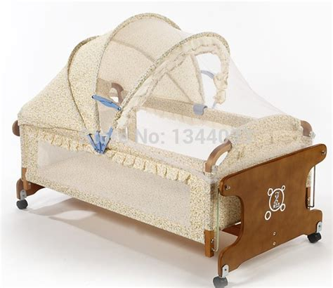 Quality Cribs by High Quality 100 Cotton Infant Crib Baby Sleepping Basket