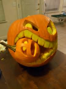 cannibalistic pumpkin carving tutorial