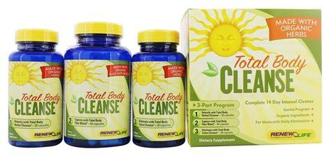 Organic Detox Kit by Buy Renew Organic Total Cleanse 14 Day 3 Part
