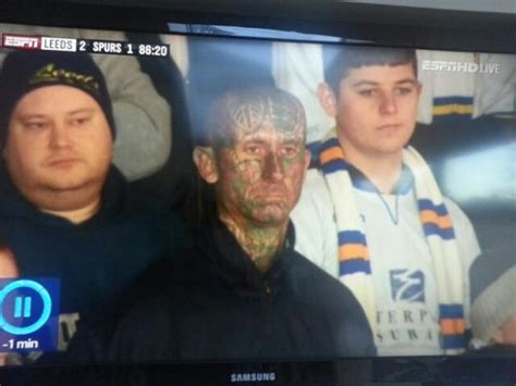 leeds tattoo on head 17 reasons why being a leeds united fan is bloody