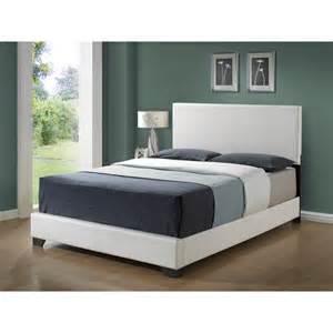 platform bed white white queen platform bed excellent saverne leather